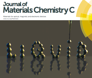 Paper with Dickey Lab on cover of J Materials Chemistry C