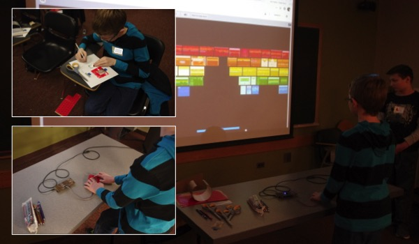SML hosts middle school workshop on wearables
