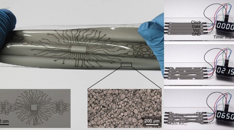 Self-Healing Soft Electronic Skin Reported in Nature Materials